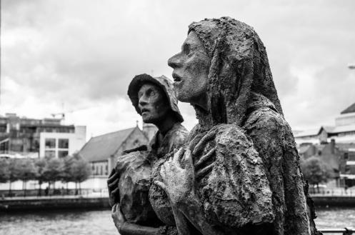 Dublin - Famine Memorial