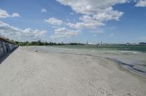 Estonie Tallinn Plage est Mer baltique golfe de Finlande