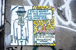 Paris - Street art Butte Montmartre