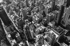 New-York Vue de l'Empire State Building