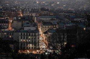 Paris 18° Montmartre marché St Pierre