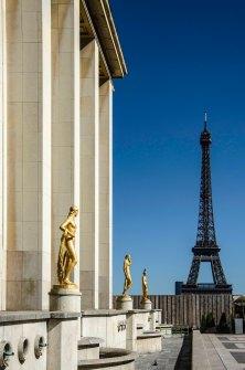 Paris 7° Tour Eiffel et Trocadero