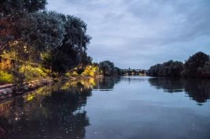 La Marne éclairée